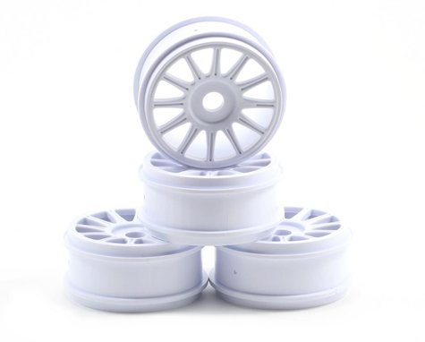 JConcepts Rulux 1/8th Buggy Wheel (White) (4)