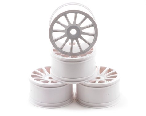 "JConcepts Rulux ""Half Ups"" LPR 1/8th Truck Wheel Standard Offset (White) (4)"