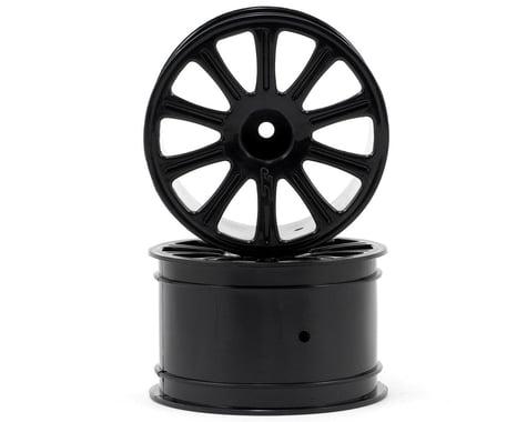 JConcepts 2.2 Rulux Wheel (2) (1/16th E-Revo) (Black)