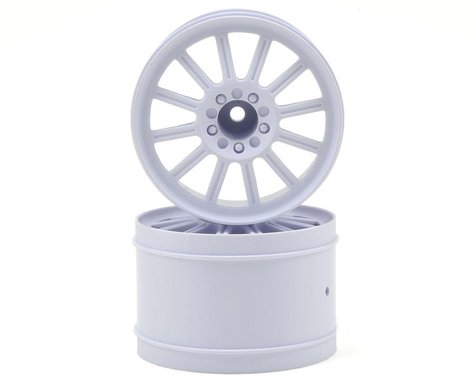 "JConcepts 12mm Hex Rulux 2.8"" Front Wheel (2) (White)"
