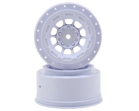 JConcepts 12mm Hex Hazard Short Course Wheels w/3mm Offset (White) (2) (SC5M)