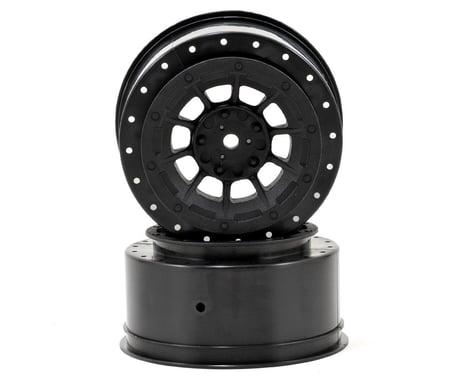 JConcepts 12mm Hex Hazard Short Course Wheels w/3mm Offset (Black) (2) (SC5M)