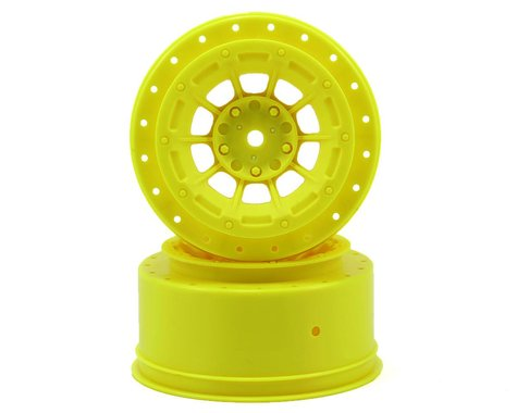JConcepts Hazard 12mm SC10/4x4 Hex Wheel Yellow (2) JCO3344Y