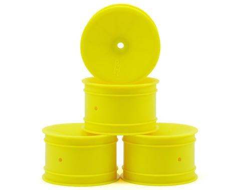 JConcepts 12mm Hex Mono 2.2 Rear Wheels (4) (B6/B74/RB6) (Yellow)