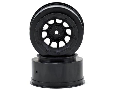 JConcepts 12mm Hex Hazard Short Course Wheels (Black) (2) (Slash Front)