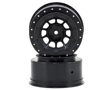 JConcepts 12mm Hex Hazard Short Course Wheels (Black) (2) (Slash)