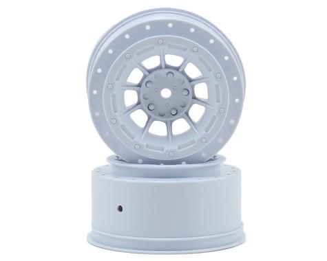JConcepts 12mm Hex Hazard Short Course Wheels (White) (2) (Slash)