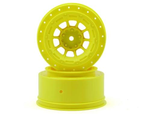 JConcepts 12mm Hex Hazard Short Course Wheels (Yellow) (2) (Slash)