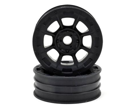"JConcepts Hazard 1.9"" RC10 Front Wheel (Black) (2)"