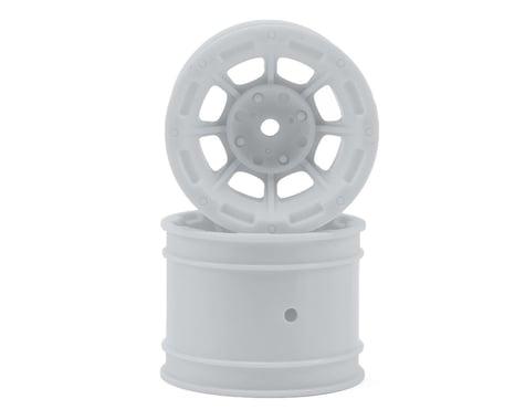 "JConcepts Hazard 1.7"" RC10 Rear Wheel (White) (2)"