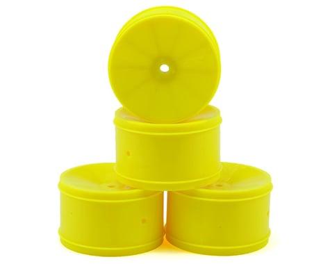 JConcepts 12mm Hex Bullet 60mm Rear Wheels (4) (B6/RB6/SRX/XB4) (Yellow)
