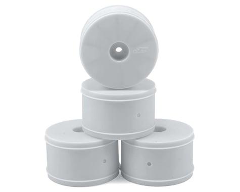 JConcepts 12mm Hex Bullet 60mm Rear Wheels (4) (22/22-4/B-MAX4) (White)