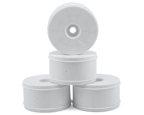 "JConcepts Bullet 4.0"" Standard Offset 1/8 Truck Wheels (4) (White)"
