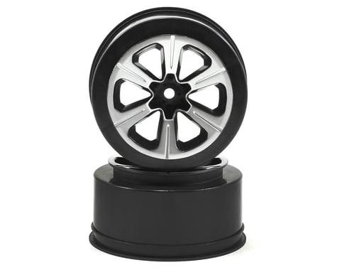 JConcepts 12mm Hex Hustle Short Course Wheels (Black) (2) (Slash)