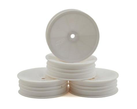 "JConcepts 12mm Hex Mono 2.2 ""Slim"" Front Wheels (4) (B6/RB6/SRX2/YZ2) (White)"