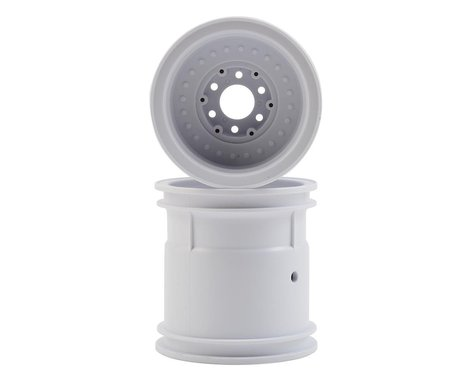 """JConcepts Midwest 2.2"""" Monster Truck Wheel (2) (White)"""