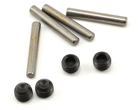 JQRacing Hex Pin & Grubscrew Set (4)