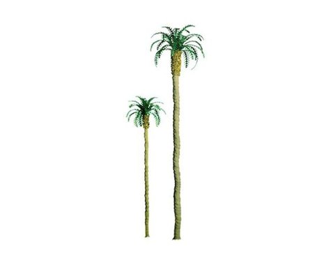 "JTT Scenery Professional Tree, Palm 1.5"" (6)"