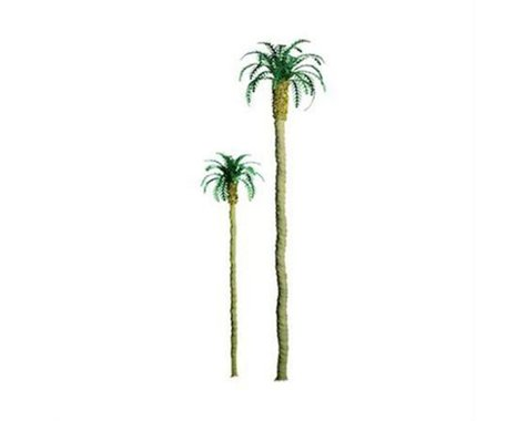 """JTT Scenery Professional Tree, Palm 4"""" (3)"""