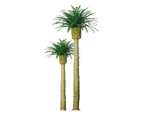 "JTT Scenery Professional Tree, Phoenix Palm 4"" (2)"