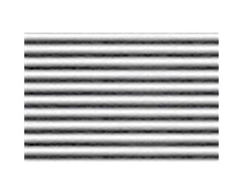 "JTT Scenery 7.5x12"" 1:100 Corrugated Siding Sheet (2)"
