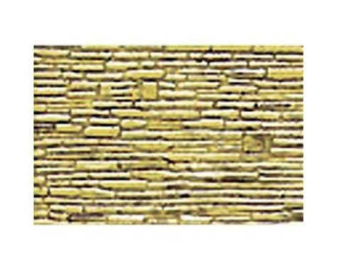 "JTT Scenery 1:48 Random Coarse Stone Sheet, 7.5""x12"" (2)"