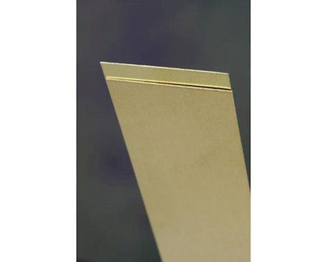 "K&S Engineering Brass Sheets .016"" Fs-16 (1)"