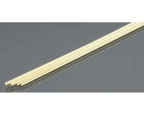 K&S Engineering Brass Rod, 1/16 & 3/64 Bend, (2)