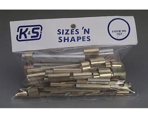 K&S Engineering Sizes & Shapes, Assortment