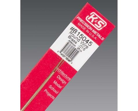 """K&S Engineering 815045 Round Wire .016"""" R-16 (3)"""