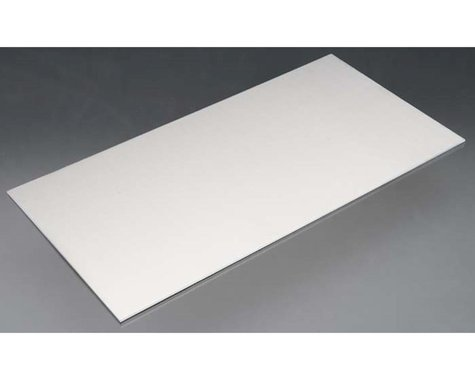 """K&S Engineering Aluminum Sheets .090 X 6 X 12"""", Carded"""