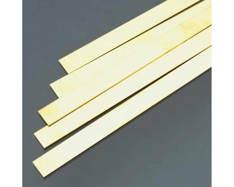 "K&S Engineering Brass Strips,36"",.032 x 1/2 (5)"