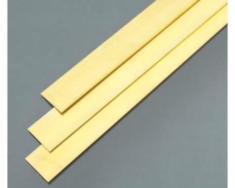 "K&S Engineering Brass Strip .064 x 1"""