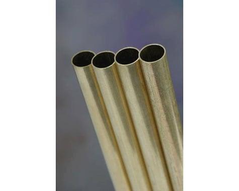 K&S Engineering Round Brass Rod,  4 mm Diameter (3)