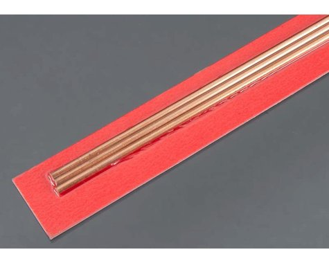 K&S Engineering Round Copper Tube,  3 mm  x .36 mm  (3)