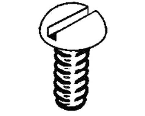 """Kadee Stainless Steel Screws, 2-56 x 3/8"""" (12)"""
