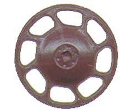 Kadee HO Brake Wheel, Universal/Boxcar Red (8)