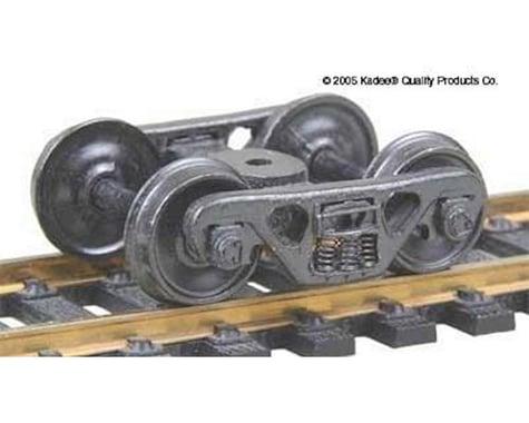 "Kadee HO ASF 100Ton Truck, 36"" Smooth Wheels (1pr)"