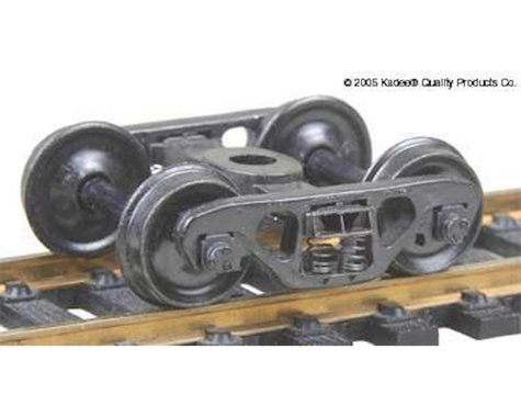 "Kadee HO Barber S2 Roller Bearing Truck w/33"" Smooth Bac"