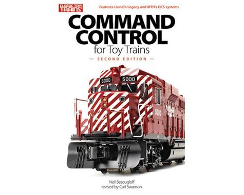 Command Control for Toy Trains