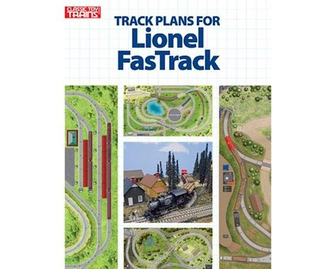 Kalmbach Publishing Track Plans for Lionel FasTrack