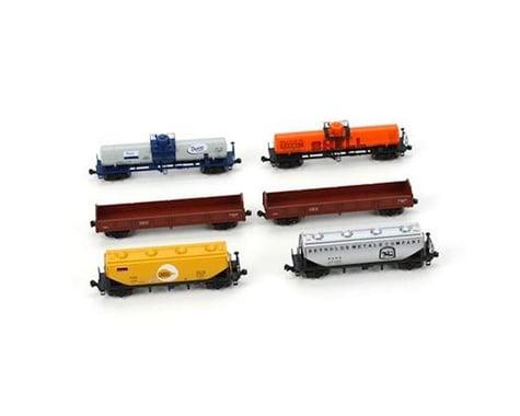 Kato N Mixed Freight Car Set (6)