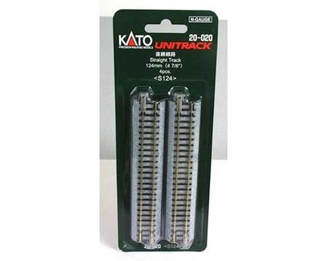 "Kato N 124mm 4-7/8"" Straight (4)"