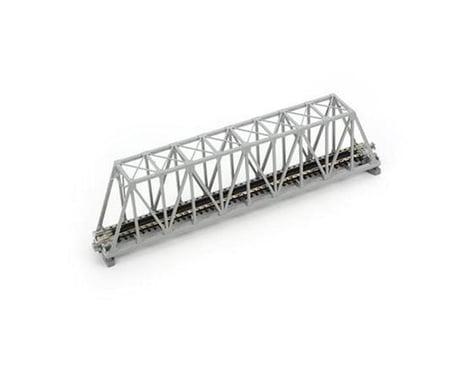"Kato N 248mm 9-3/4"" Truss Bridge, Gray"