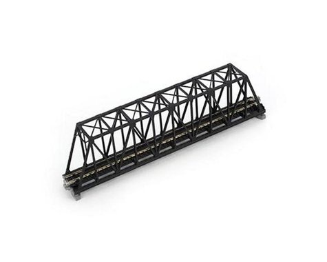 "Kato N 248mm 9-3/4"" Truss Bridge, Black"