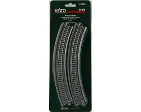 "N 282mm 11"" Radius 45-Degree Viaduct (2)"