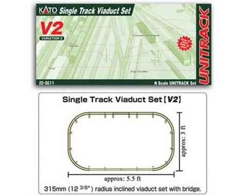 N V2 Single Track Viaduct Set