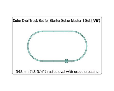 N V6 Outside Loop Track Set