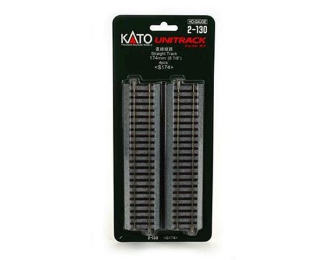 "HO 174mm 6-7/8"" Straight (4)"