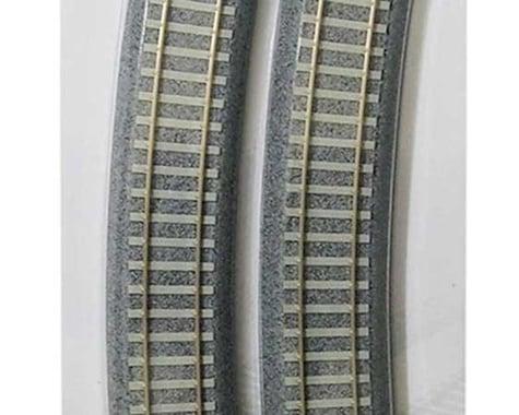 """Kato HO 730mm 28-3/4"""" 22.5 Degree Track Easement (2)"""